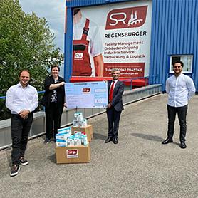 SR Regensburger - Spendenaktion